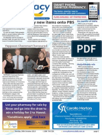 Pharmacy Daily for Tue 29 Oct 2013 - 50 new PBS items, eRx Express app launch, Deseril to be discontinued, Yeppoon Chemmart honoured and much more