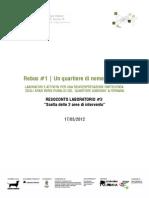 CANTIERE VERDE | Progetto Rebus | RESOCONTO LAB #3