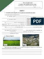 B.1 - Teste Diagnóstico - Agricultura e pesca (1)
