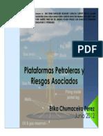 La Operacion de Las Plataformas Petroleras y Los Riesgos Asociados