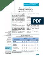 Economía peruana en el segundo trimestre del 2013