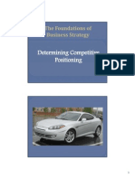 Determining Competitive Position