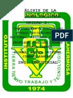 unidad 2 ANÁLISIS DE LA  REALIDAD NACIONAL