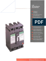 Det-023 Ted Circuit Breaker Molded Case Ge