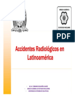 Accidentes Radiologicos en Latinoamerica