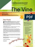 November 2013 Newsletter The Vine.pdf