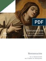 1192449752138 Restauracixn de La Anunciacixn Del Carmen de Antequera.