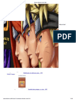 Manual Ultimate Naruto 3 d&t