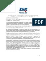 GUIA TÉCNICA DE BUENAS PRÁCTICAS DE MANUFACTURA (GMP) PARA LA INDUSTRIA DE PRODUCTOS COSMETICOS (CHILE)