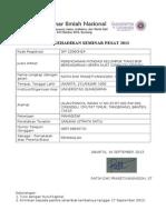 Formulir Pendaftaran Pemakalah PESAT-SIP 1206GH24