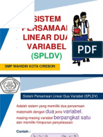 SISTEM PERSAMAAN LINEAR DUA VARIABEL (SPLDV).pptx
