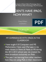 my students have ipads now what 10 29 13