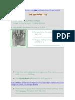 Suffraggetes Worksheet 1