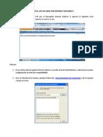 ERROR en PORTAL SAP 05 (No Abre Por Internet Explorer 9)
