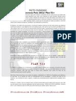 Pacto Ciudadano - Plan 51+