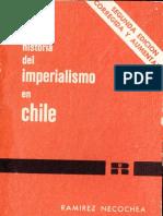 Hernán Ramírez Necochea - Historia del Imperialismo en Chile