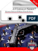Deadly Force in Texas - Legal Info