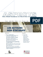 Les acteurs non étatiques dans les conflits armés – Aspect, n°4, 2010