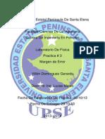 UPSE 1-2 Física 03 Villón Domínguez Gerardo