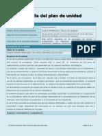 plan de unidad las plantas medicinales gliceria