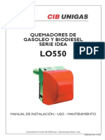 Manual LO550