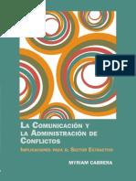 La Comunicacion Manejo de Conflictos}