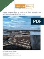 Urban malnutrition