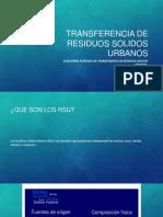 Transferencia de Residuos Solidos Urbanos