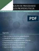 Presentacion de Programas Por Ciclos Propedeuticos