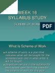 WEEK 16 Syll Study Scheme of Work.ppt