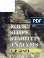Rock Slope Stability Analysis