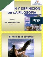 01_ORIGEN Y DEFINICIÓN DE LA FILOSOFÍA