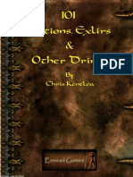 101 Potions Elixirs & Other Drinks