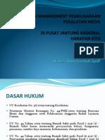 PELAKSANAAN MANAGEMENT PEMELIHARAAN PERALATAN MEDIS PJNHK.pdf