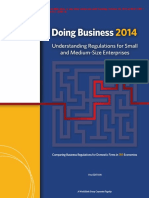 EMBARGOED DoingBusiness14 WorldBankGroupReport