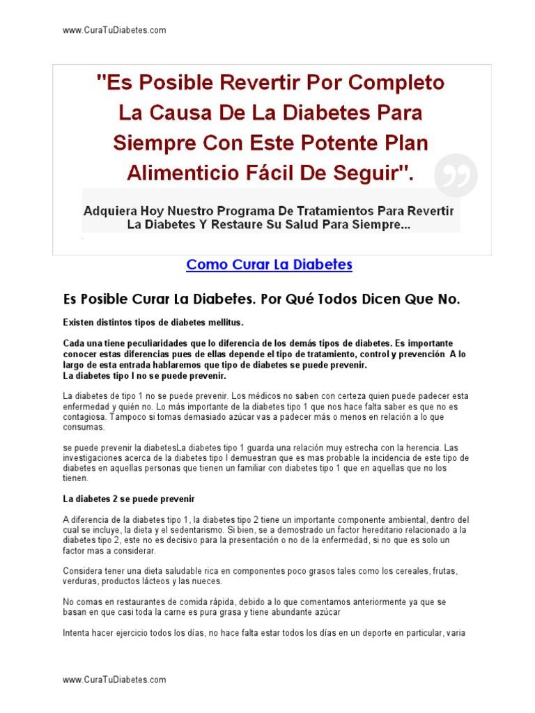 curar la diabetes tipo 1 con dieta vegana