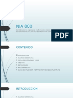 NIA 800