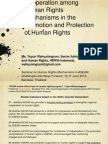 Human Rights Cooperation in ASEAN