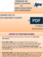 Escorts Tractors Workshop, Faridabad Power Point Slide.pptx