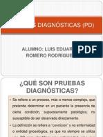 PRUEBAS DIAGNÓSTICAS (PD)