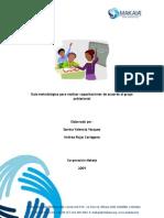Guia Capacitaciones Para Diferentes Grupos Poblacionales