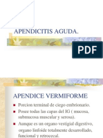 Apendicitis Aguda.