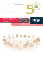 ICCA 50 statistics. A modern history of international associations Meetings