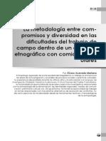 Alvaro Acevedo Merlano - El Metodo Etnografico