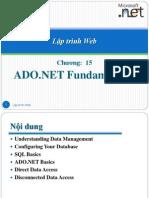15 ADO.netfundamentals