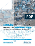 Urban Indigenous Peoples and Migration