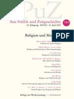 APuZ_Religion Und Moderne