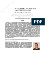 MODELING AND SIMULATION OF MOS MIS MATCH.pdf