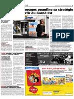 BD PHIL et SOF dans le Journal L'Alsace