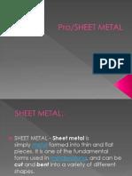SHEET METAL.ppsx